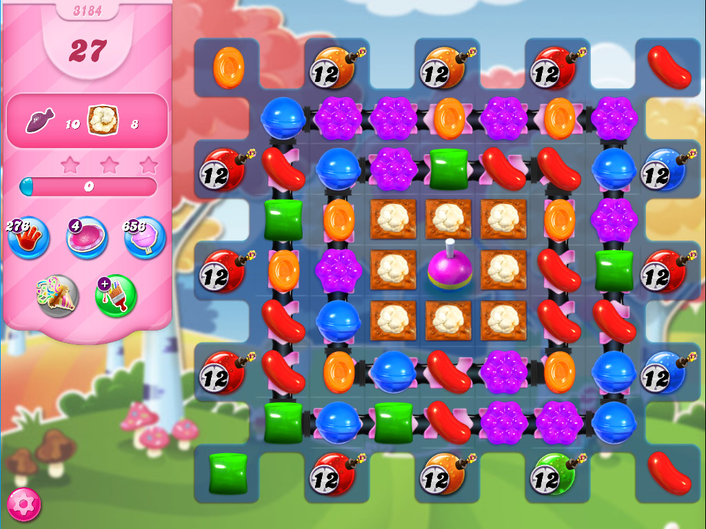 Candy Crush Saga level 3184