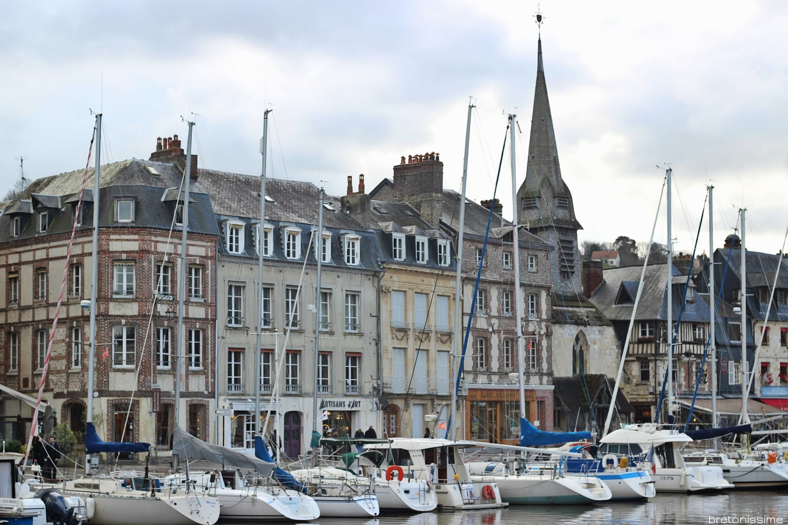 Honfleur, port