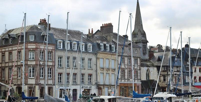 Atrakcje Normandii i zwiedzanie Honfleur / Les incontournables de Normandie et la visite d'Honfleur