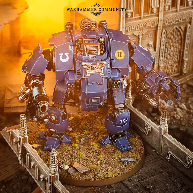 space marine redemptor dreadnought