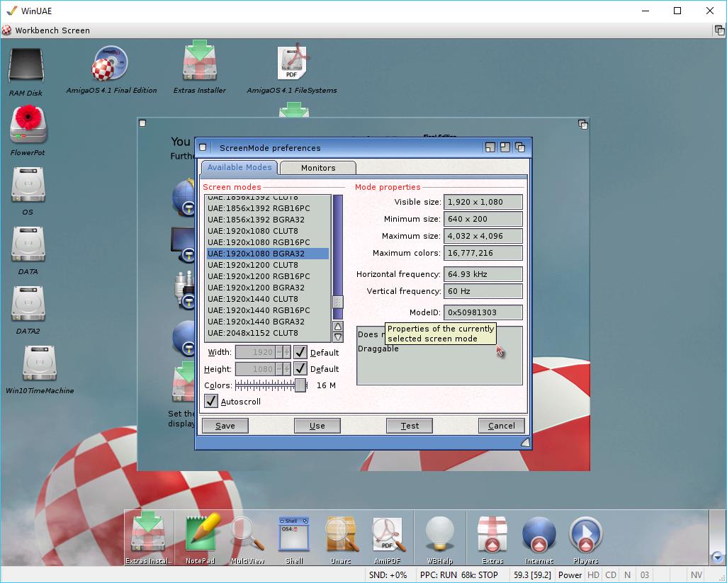 FlowerPot AmigaOS4 | AmigaBlogs