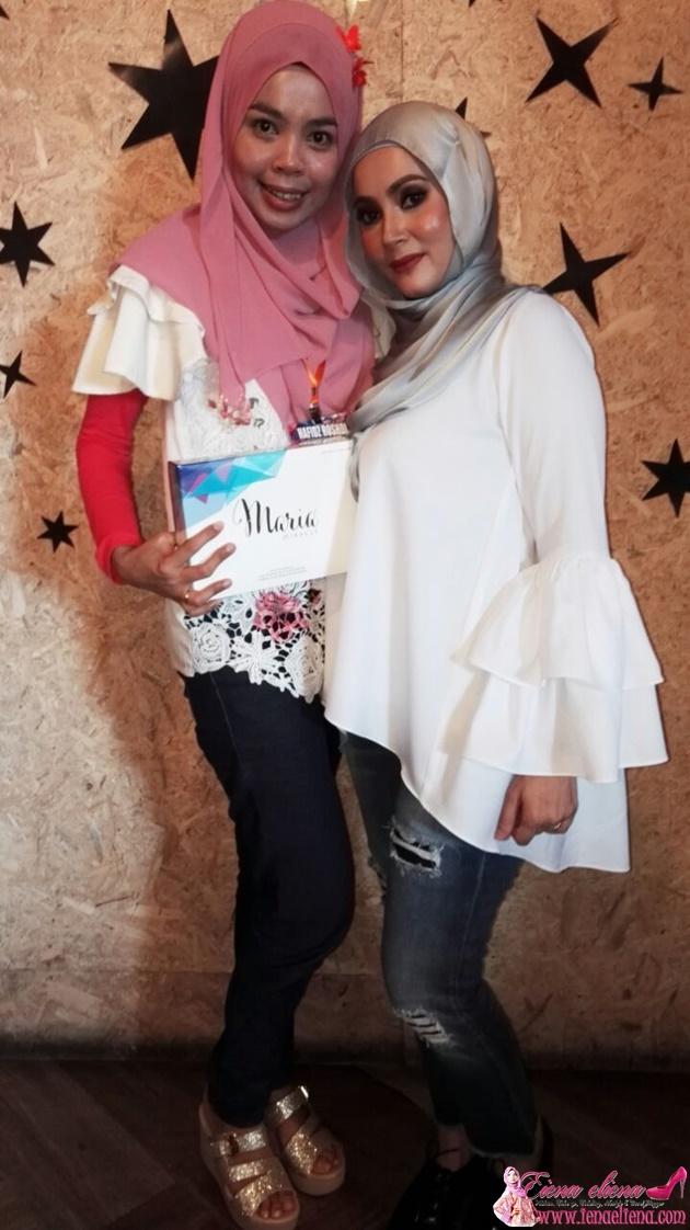 cik iena bersama Pengasas Maria Miracle Puan Maria Hasmin Marzuki