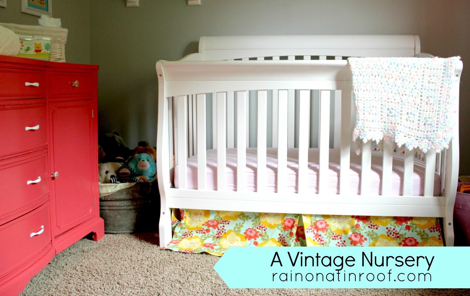 A Vintage Inspired Nursery Makeover
