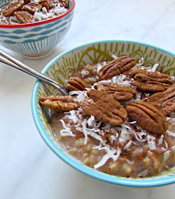 Chicago Jogger: Instant Pot Pecan Pie Oatmeal