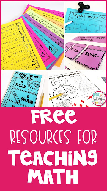 Pin for free math resources