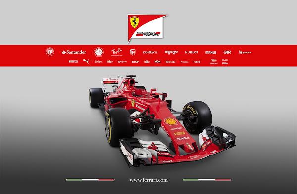 Ferrari SF70H F1 2017