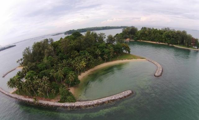 Sisters Islands Marine Park Singapura