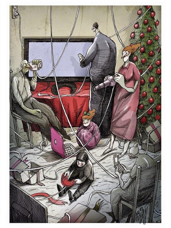 Angel Boligan - Sátira Surrealista | Todos Conectados