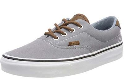 zapatillas lona grises