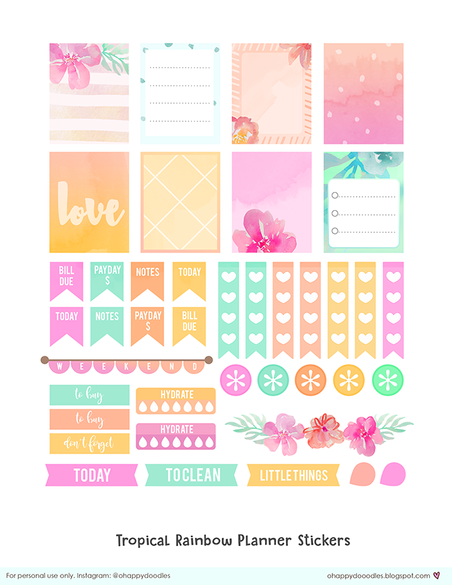 Monster image with freebie planner