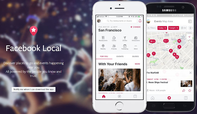 Facebook Local remplace Facebook Events