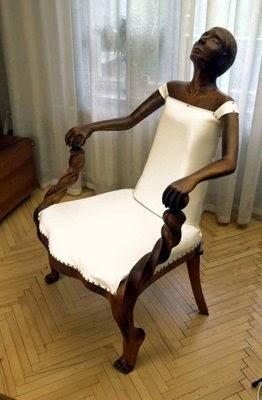 sillas blancas muy creativas