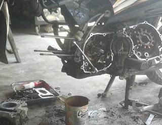 Kerugian Malas Servis Motor