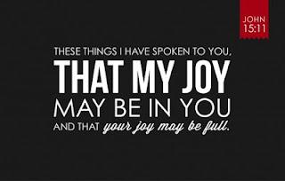 GOD GIVES MORE JOY