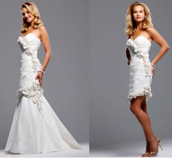 Vestidos%2B2%2Bem%2Bum17 - Uma noiva e 2 vestidos - Vestidos transformáveis 2 em 1