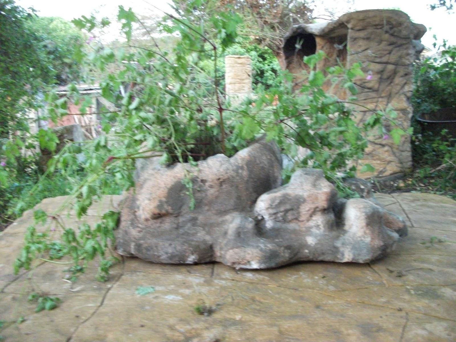 Am nagement de jardin rochers d coratifs faux bois en for Jardins decoratifs