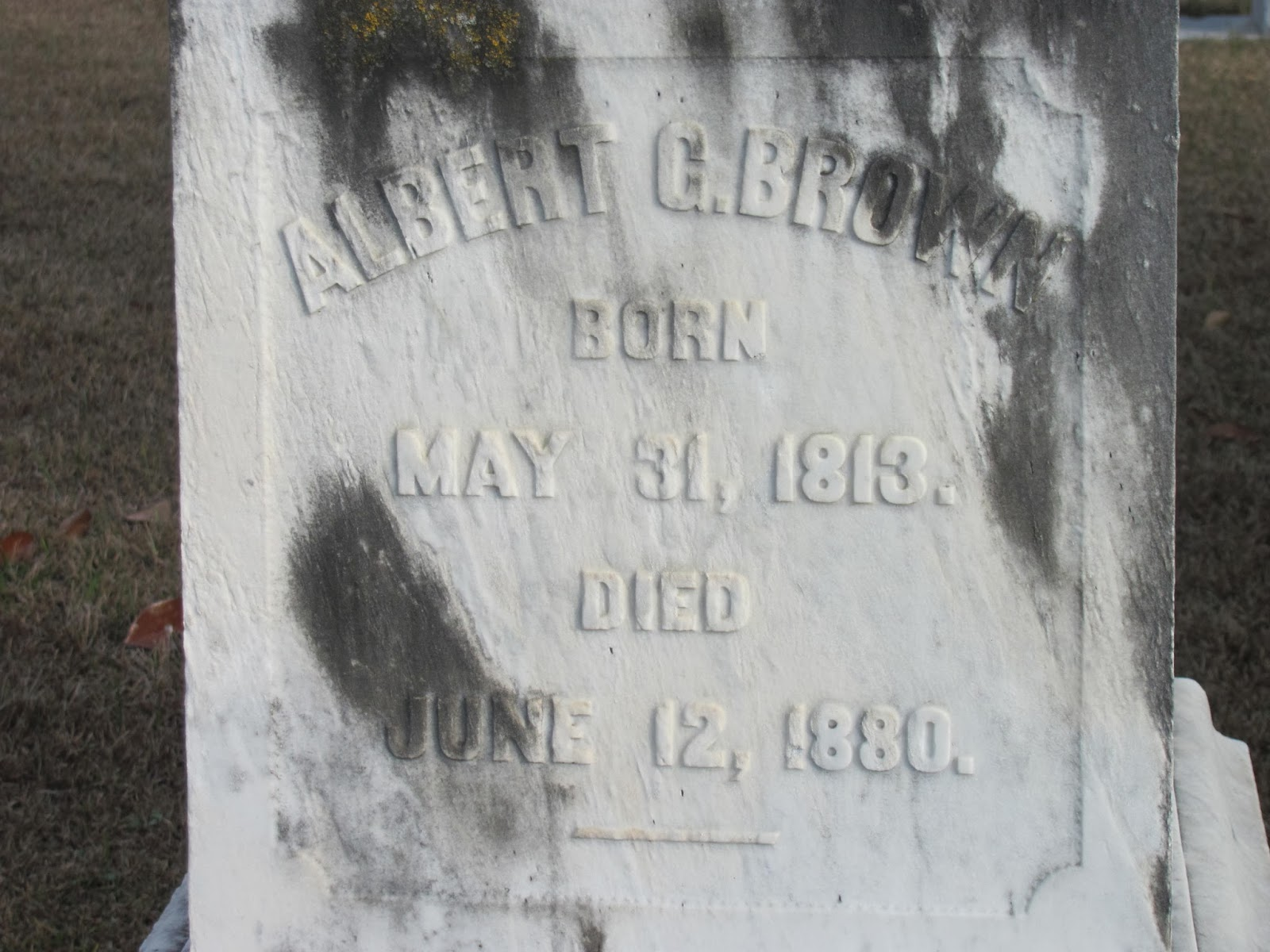 Between the Gate Posts: Tombstone Tuesday Albert Gallatin ...