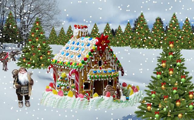gratis-foto-julkort-julbilder-sno-julgran-vinter-bakgrund