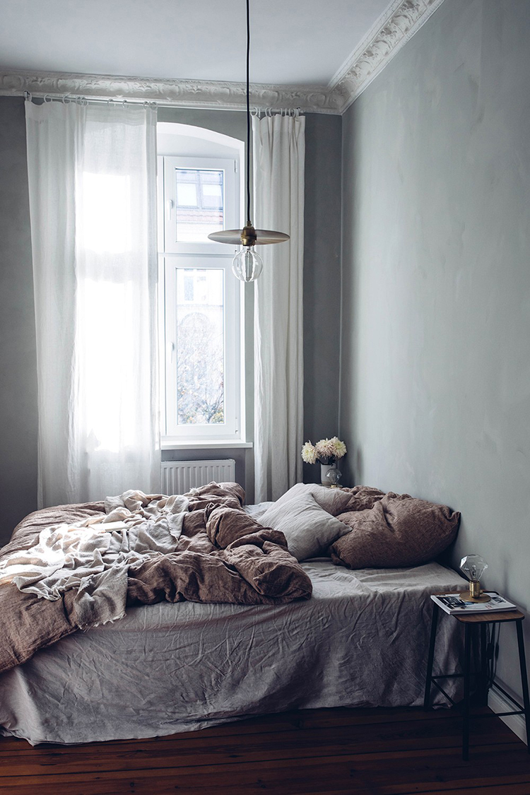Casual cozy bedroom by Our Food Stories