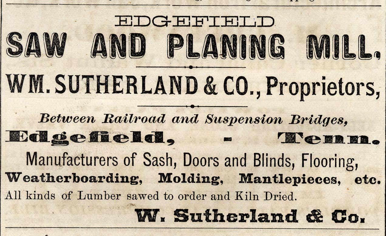 Nashville City Directory, 1871.