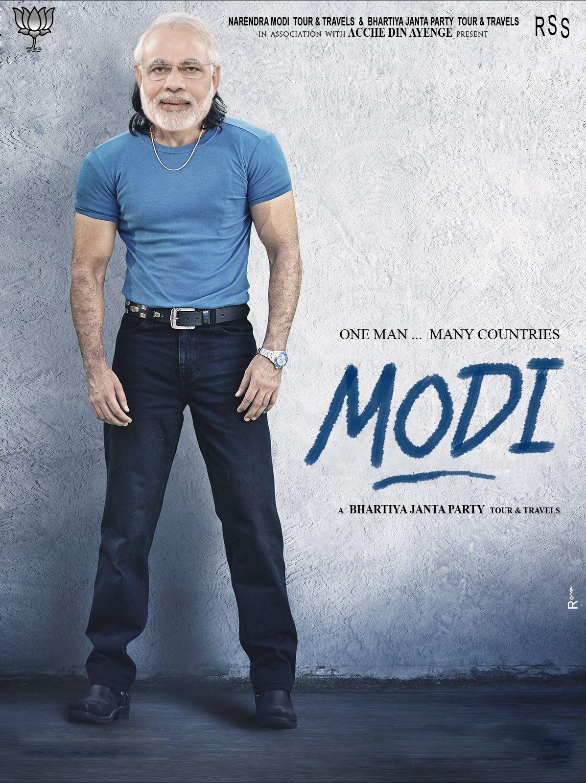 Tour & Travels Modi Funny