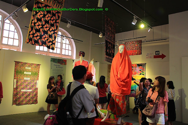 Batik Exhibits, KL City Gallery, KL, Malaysia