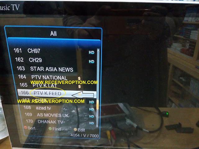 I TECH I-6 PLUS HD RECEIVER BISS KEY OPTION
