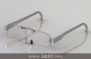 glasses 3d model free