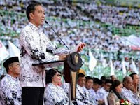 Honorer K2 : Yakinlah, Pak Jokowi Tepati Janjinya Angkat Honorer Jadi CPNS ! Ternyata Ini Alasannya