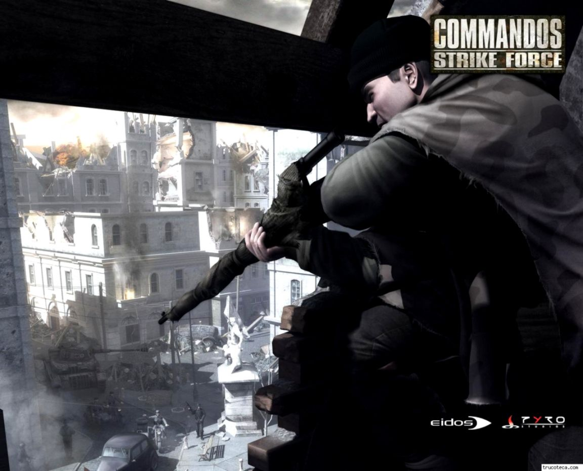 download commandos strike force full pc