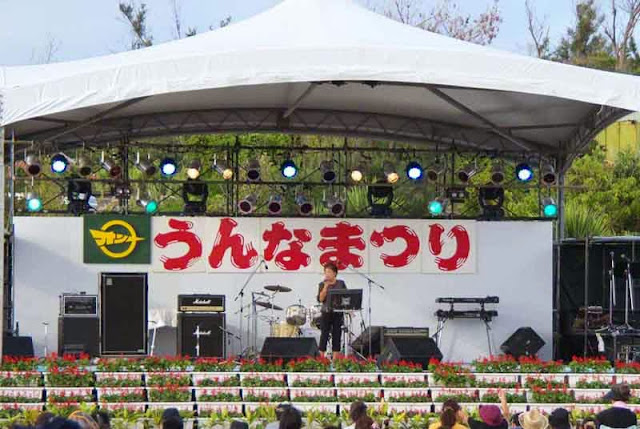 stage for festival performers