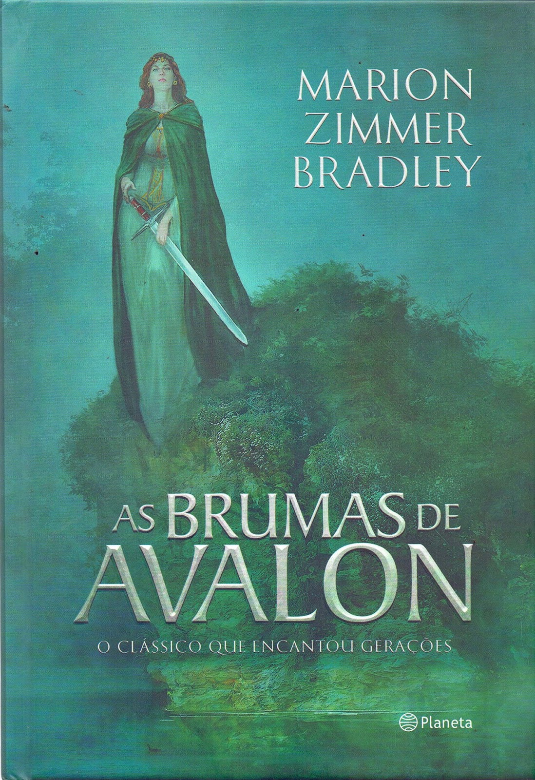 Capa do Livro As Brumas de Avalon
