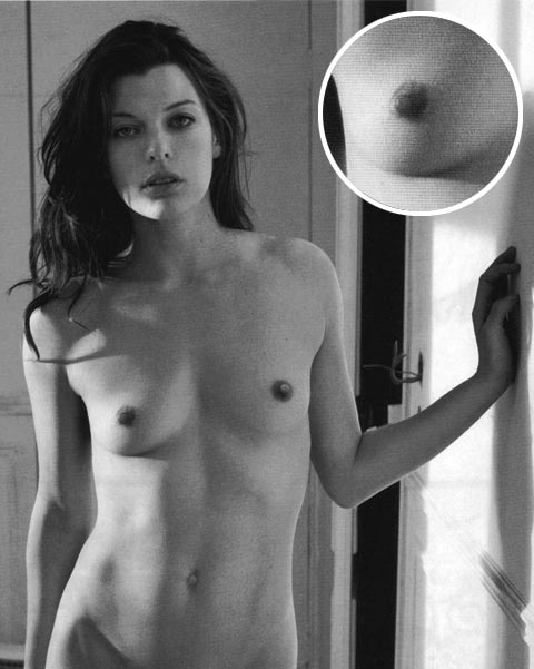 Boobs mila jovovich