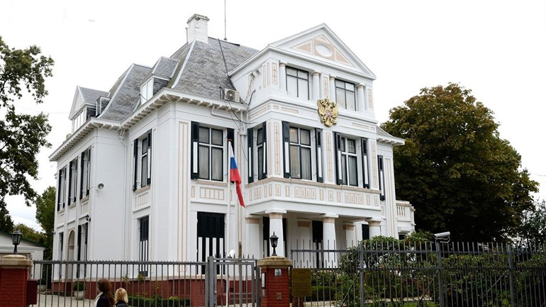 Hague russian embassy in new