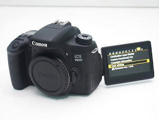 Jual Canon EOS 760D Wi-Fi Bekas