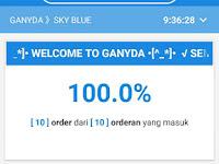 Mod Gojek Driver Ganyda Sky Blue V400xV2