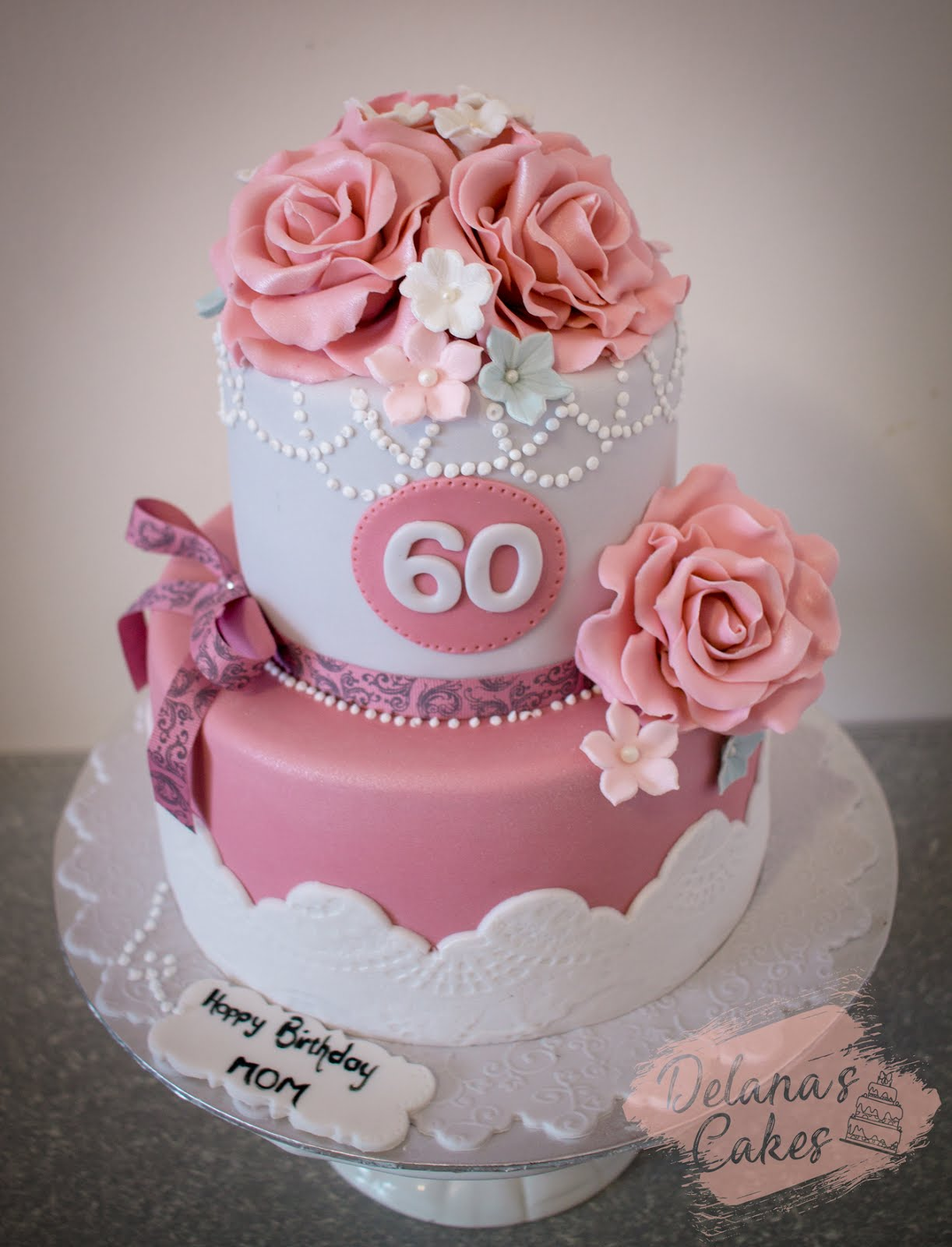 Marvelous Delanas Cakes Vintage Birthday Cake Personalised Birthday Cards Veneteletsinfo