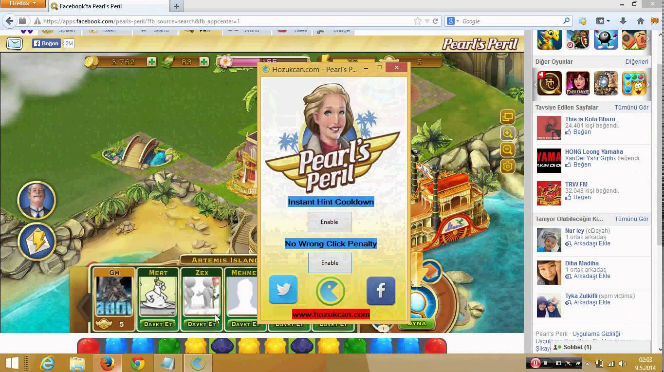 Pearl's Peril How to unlock Coins,Cash,Energy
