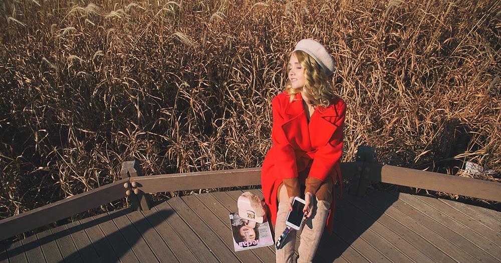 Under december sun - My Blonde Gal