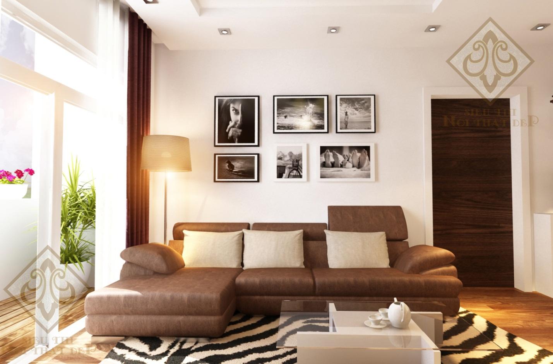 Thiết kế nội thất tại căn hộ Eurowindow River Park Đông Trù