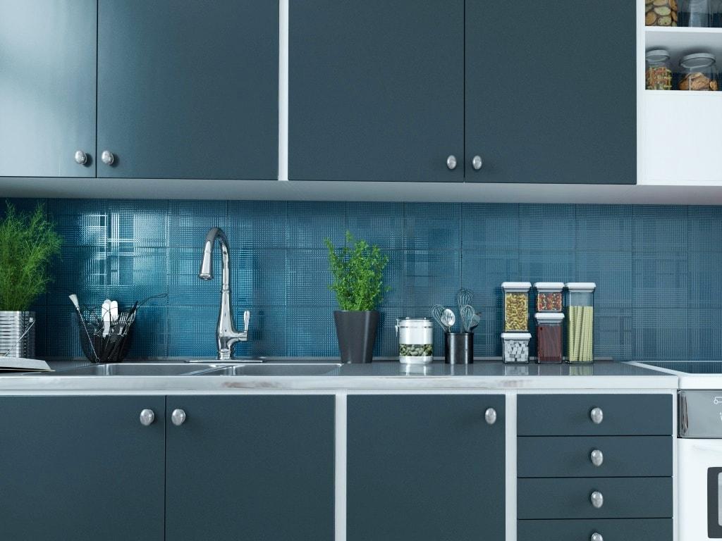 Ideas de revestimientos para las paredes de la cocina cocinas con estilo - Alicatado cocina ...