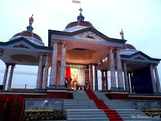 Thánh lễ Kính Lòng Thương Xót Chúa tại Thánh đài Đền Thánh Kiên Lao 2013