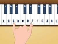 Cara Bermain Piano Simple