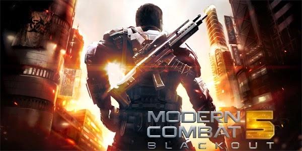 Modern Combat 5 Blackout Apk + Data