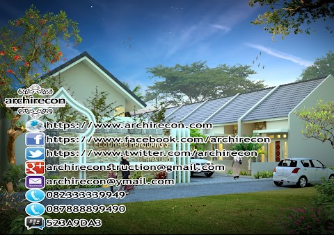 PERUMAHAN MINIMALIS BERGAYA ISLAMI 082-33333-9949