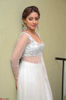 Anu Emmanuel in a Transparent White Choli Cream Ghagra Stunning Pics 072.JPG