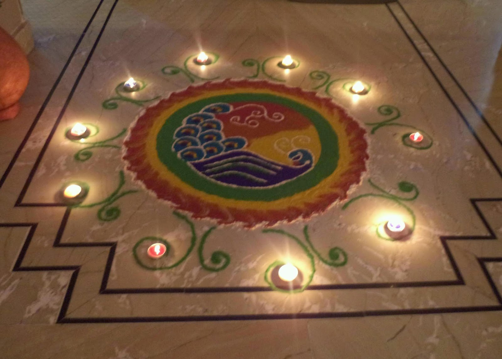 Rangoli Diwali Collection 12
