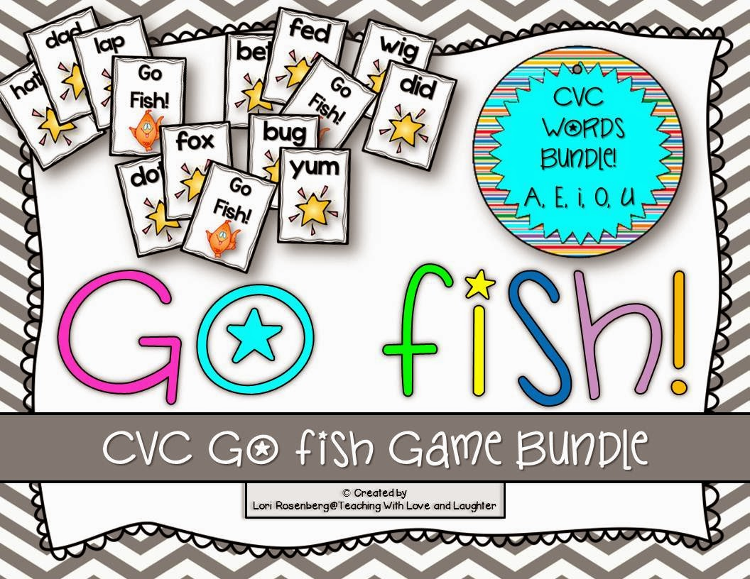 Teaching With Love And Laughter Cvc And Word Families