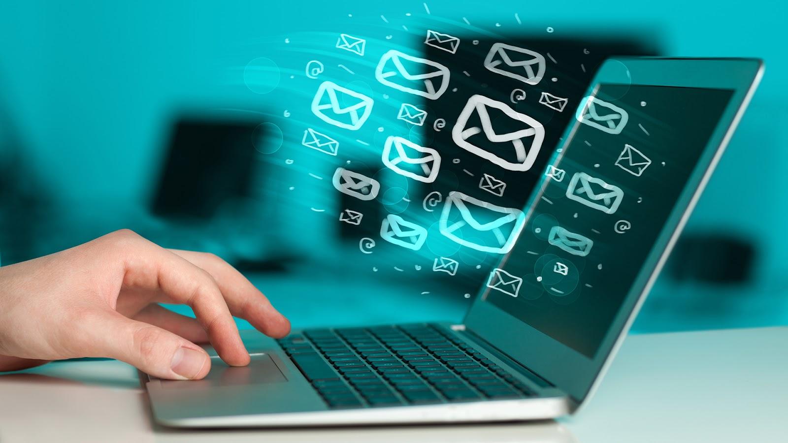 Resultado de imagem para Distribuições de Email