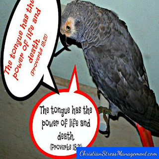 The tongue has the power of life and death Proverbs 18:21